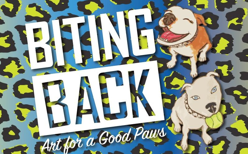 Biting Back:  Art for a Good Paws