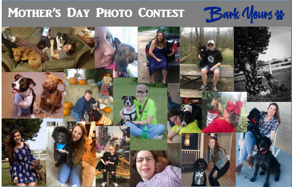 BarkYours' Mother's Day Photo Contest